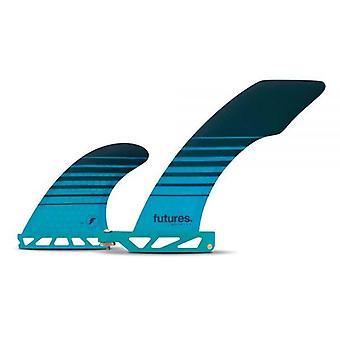 Futures hatchet 2+1 performance longboard fins