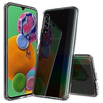 ل Galaxy A90 5G خدش TPU + ACRYLIC واقية حالة (شفافة)