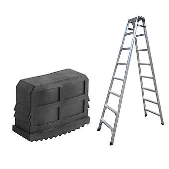 Rubber Replacement Step Ladder Feet Non Slip Foot Cover Mat Cushion Tool