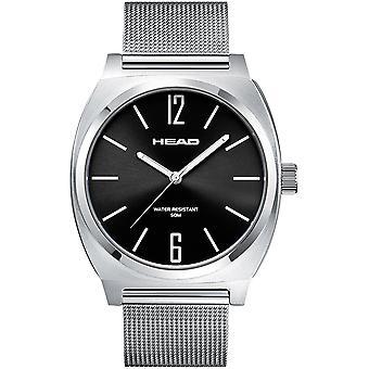 Head Generation Watch HE-010-03 - Análogo de Quartzo Unissex de Aço Inoxidável