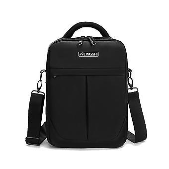 LINGSHI For DJI Mavic Air 2 Heightened Portable Shoulder Storage Bag Protective Box(Black)