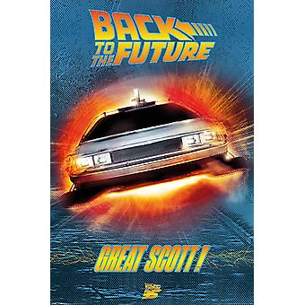 Back To The Future Great Scott Poster