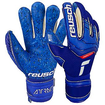 Reusch Attrakt Fusion Finger Support Goalkeeper Gloves Size
