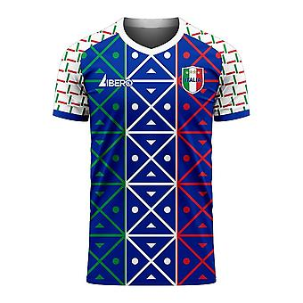Italië 2020-2021 Renaissance Home Concept Football Kit (Libero)
