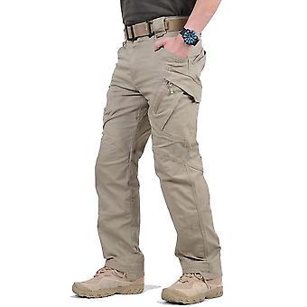 Pantalon cargo étanche militaire Hommes Breathable Swat Army Combat Trousers