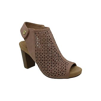 Giani Bernini Womens Joisey Rubber Peep Toe Casual Ankle Strap Sandals