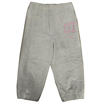Nike 07 Infants Baby Girls Joggers Fleece Bottoms Grey 404438 051 DD16