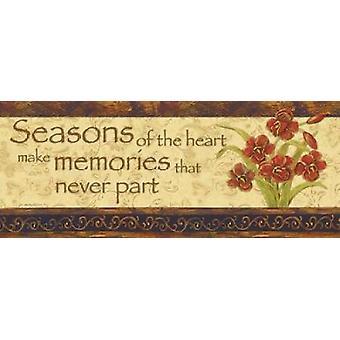 Seasons of the Heart Poster Print by Jo Moulton