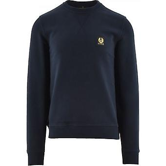 Belstaff Navy Regular Fit Sweatshirt