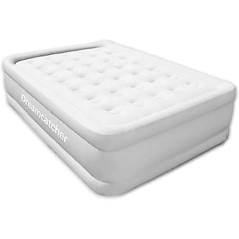 Dreamcatcher Deluxe Inflatable Mattress Double Blow up Air Bed with Built in Pump 191 x 137 x 46 cm