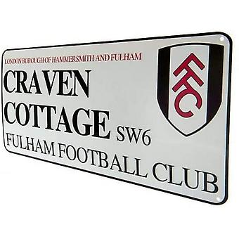 Fulham FC Craven Cottage Plaque
