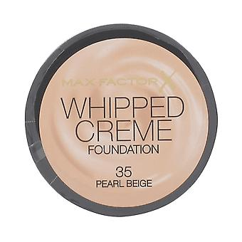 Max Factor # Max Factor Whipped Cream Foundation - Pearl Beige 35 DISCON#