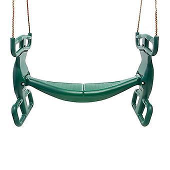 Barnsving - duogunga - 90x39x58cm - grön