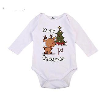 Vánoční Jelení Dítě Romper