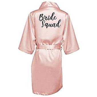 Nouvelle robe de demoiselle d'honneur avec des lettres mère soeur des robes de mariée de mariage
