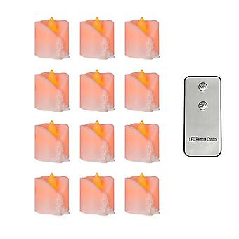 Pack Of 12 Remote Or Not Remote New Year Candle