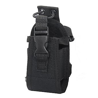 Multifunctional Tactical Walkie Talkie Storage Bag Intercom Radio Case Holder Pouch Bag