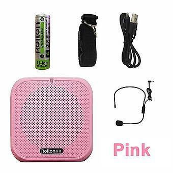 Booster megafono amplificatore vocale portatile K400 con microfono cablato