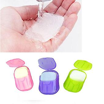 Portable Washing Slice Sheets - Hand Bath Travel Scented Foaming Paper Soap