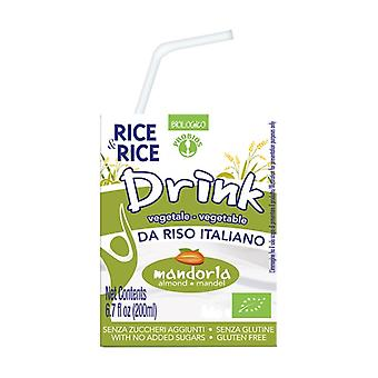Almond rice drink - with straw 500 ml