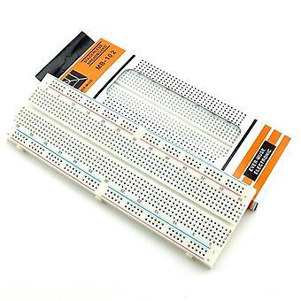 830-pisteinen juottamaton, elektroninen prototyyppi, testipiiri, leipälevy