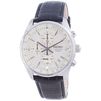 Seiko Chronograph Kvartsi Ssb383 Ssb383p1 Ssb383p 100m Men's Watch