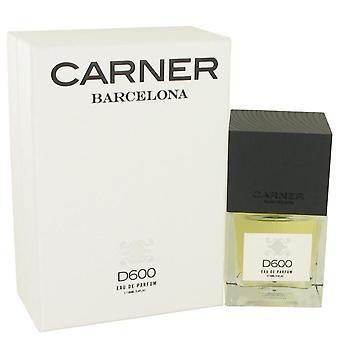 D600 Eau De Parfum Spray By Carner Barcelona 3.4 oz Eau De Parfum Spray
