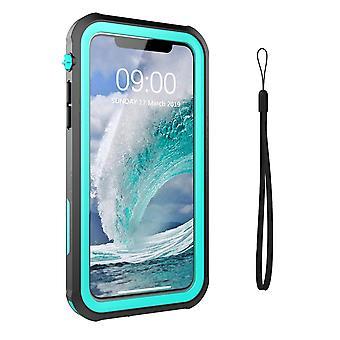 iPhone 11 Shell/Case Preto/Turquesa