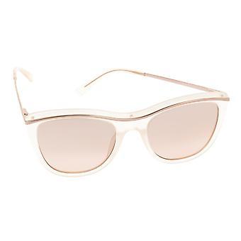 Liebeskind Berlin Women's Sunglasses 10789-00190 BEIGE TRANSPARENT / ROSÉ GOLD