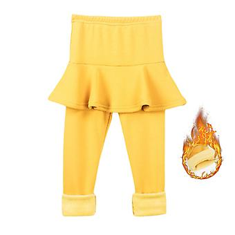 Pure Color Pants Kids Leggings 2-10y Clothing Autumn Cotton Warm Baby