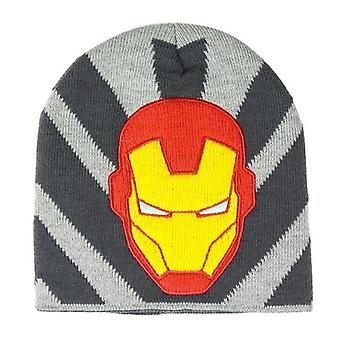 Child hat ironman the avengers grey