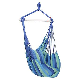 Garden Swinging Hammock Hanging Rope Swing Seat With 2pillow