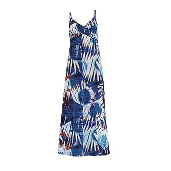 Sunflair City & Beach 23328-26 Women's Blue Geometric Beach Dress