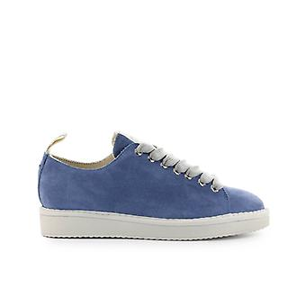 Pànchic Light Blue Grey Suede Sneaker