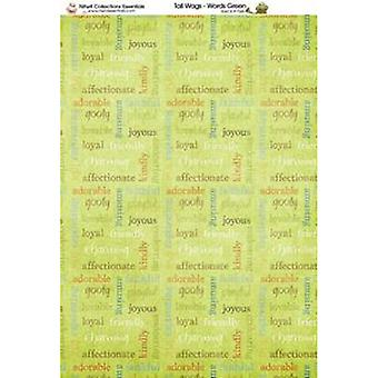 Nitwit Collection - TW Words Paper A4 10 Sheets