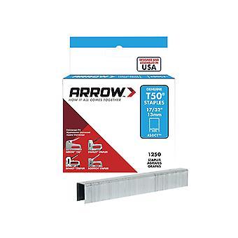 Arrow T50 Staples Ceiltile 13mm Box 1250 ARRT50CTS