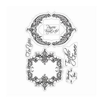 Couture Creations Hjärtan Lättramar och känslor Rensa frimärken