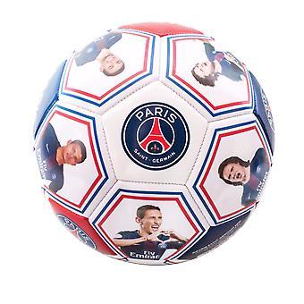 Paris Saint Germain viralliset pelaajat Kuva ja allekirjoitus Jalkapallo (Koko 5)