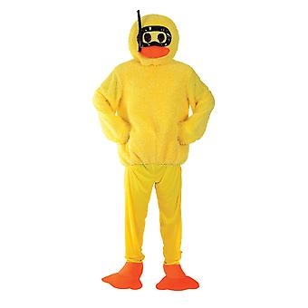 Orion kostuums Unisex Giant geel Bad Duck hert doen grappige nieuwigheid fancy dress