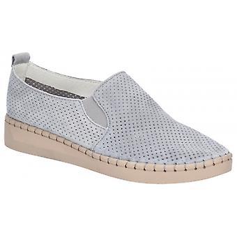 Fleet & Foster Tulip ladies demanda zapatos casuales grises
