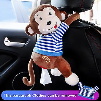 Cute Cartoon Car Tissue Box Holder For Car Armrest Box Car Seat Tissue Box