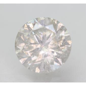 Zertifiziert 2.14 Karat G SI2 Runde Brillant Enhanced Natural Loose Diamond 8.16mm