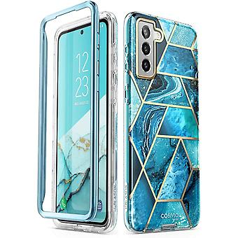 """FengChun Glitzer Hülle für Samsung Galaxy S21 (6.2"""") 5G Handyhülle Bumper Case Glänzend Schutzhülle"""