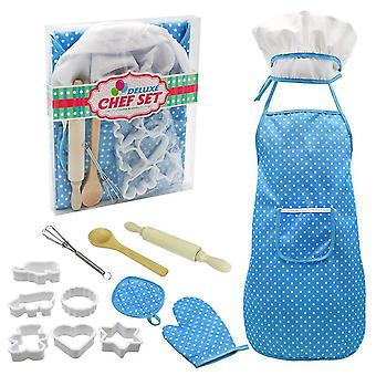 Children's toy kitchen supplies set baking tool apron
