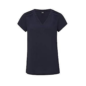 s.Oliver BLACK LABEL T-Shirt Kurzarm, 5959 Dark Navy, 42 Woman