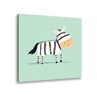 Malarstwo rysuje mnie zebra