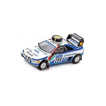 Peugeot 405 T16 Grand Raid (Ari Vatanen - Paris Dakar Rally 1988) Resin Model Car