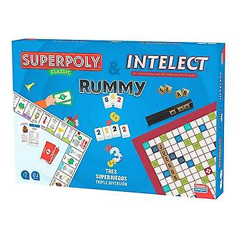 Set Falomir Superpoly, Intelect & Rummy