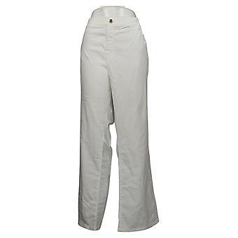 IMAN Global Chic Women's Plus Jeans Bootcut White 734928100