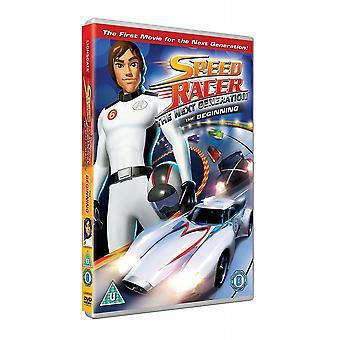 Speed Racer nästa generations DVD